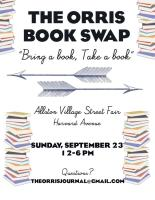 Orris Book Swap Sept 23